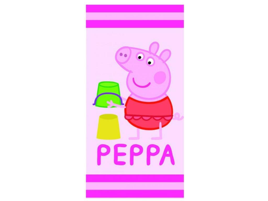 peppa wutz badetuch xxl badetuch strandtuch handtuch saunatuch baden kinder pink. Black Bedroom Furniture Sets. Home Design Ideas